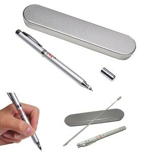 4 in 1 Retractable Ball-pen With Laser Point