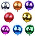 Custom 18¡° Round Shape Mylar Balloon