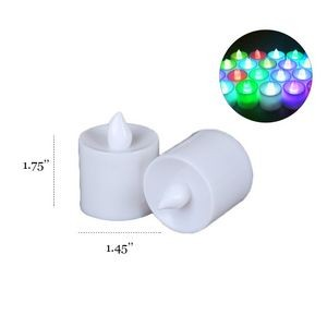 Multi Color LED Candle Light