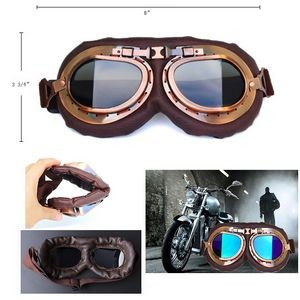 Motorcycle Goggles Vintage Pilot Style Goggle