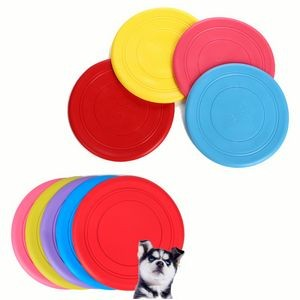 Silicone Flying Disc Dog Toys