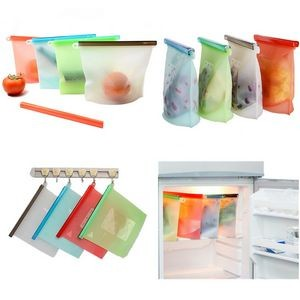 1000ml Reusable Silicone Food Freezer/Storage Bag