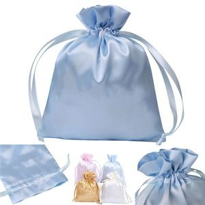 Drawstring Satin Present Bag