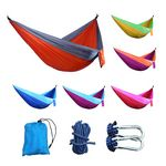 Custom 2-Person Hammock With Carry Bag