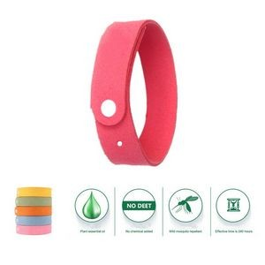 Microfiber Leather Mosquito Repellent Bracelets