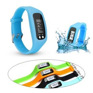 Smart LED Pedometer Watch