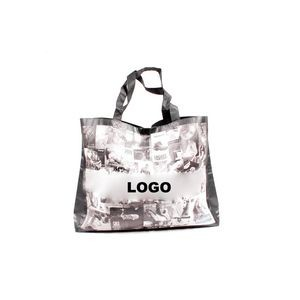 Laminated Non-Woven Shopper Printed Tote Bags