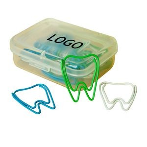 Custom Paper Clip / Tooth Shape Clips