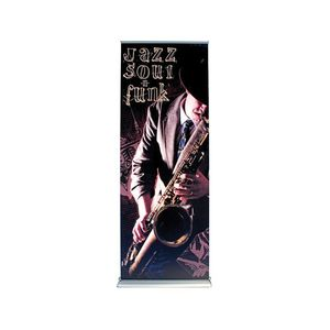 Steppy Retractable Banner Stand Graphic package (33.5x80)