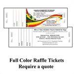 Custom Long & Thin Tickets (Bristol Colors)