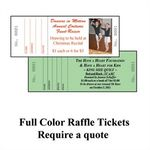 Custom House Specialty Raffle Ticket (Astrobright Colors)