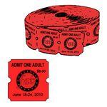Custom Custom Big Boy Single Roll Tickets