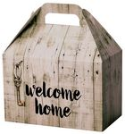Custom Rustic Welcome Home Gable Box