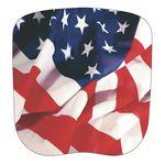 Custom Patriotic Stock Flag Hand Held Fan