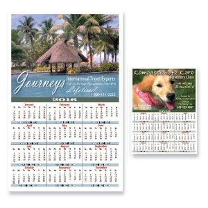 Year At A View Large Wall Calendar 2016