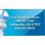 Custom Series 210 Stock Shaped Business Card Magnet