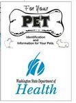 Custom For Pet's Sake Identification Kit for Pets