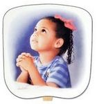 Custom Prayerful Stock Religious & Inspirational Fan
