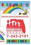 Custom Be Kid Smart Identification Kit for Children (Rainbow & Clouds)