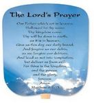 Custom The Lord's Prayer Stock Religious & Inspirational Fan