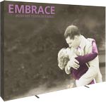 Custom Embrace 10ft. Full Height Display With Full Fitted Graphic