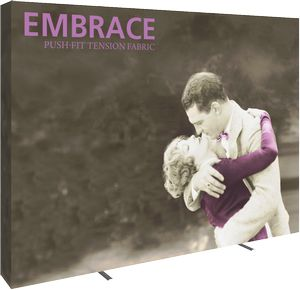 Embrace 10ft. Full Height Display With Full Fitted Graphic