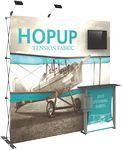 Custom Hopup 8ft Tension Fabric Backwall and Accessory Kit 02