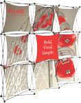 Custom Xclaim 8ft Wide Fabric Popup Display Kit 01
