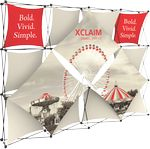 Custom Xclaim 10ft Fabric Popup Display Kit 05