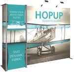 Custom Hopup 10ft Tension Fabric Backwall and Accessory Kit 04