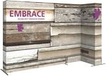 Custom Embrace 11ft. Right L Shape W/ Full Fitted Graphic
