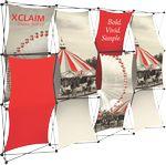 Custom Xclaim 10ft Fabric Popup Display Kit 03