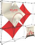 Custom Xclaim 8ft Wide Fabric Popup Display Kit 02