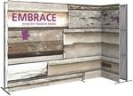 Custom Embrace 11ft. Right L Shape W/ Front Graphic