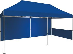 20 Zoom Outdoor Tent Stock Color Backwall