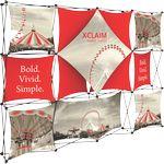 Custom Xclaim 10ft Fabric Popup Display Kit 06
