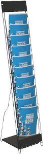 10 Up Literature Rack