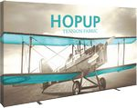 Custom Hopup 13ft Full Height Straight Display & Fitted Graphic