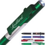 Custom 4-in-1 Multi-Purpose folding ball-point Pen