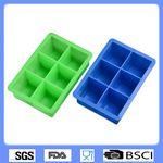 Custom Square silicone ice cube tray
