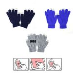 Custom Winter Full Finger Gloves For phone Touch Screen
