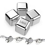 Custom Stainless Steel Chilling Reusable Ice Cube