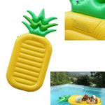 Custom Double inflatable Pineapple floating bed
