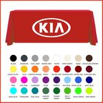Custom 8' 3 Sided Table Cover Table Throw Custom Digital Sublimation