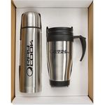 Custom Thermo Bottle/Mug Gift Set