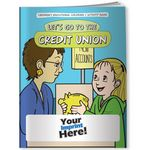 Custom Coloring Book - Let's Go to the Credit Union