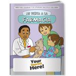 Custom Coloring Book - My Visit to the Pharmacy (Spanish)