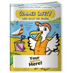 Custom Coloring Book - Summer Safety with Sunny the Seagull