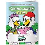 Custom Coloring Book - Saving Money is Fun
