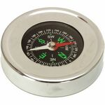 Custom Silver Executive Compass
